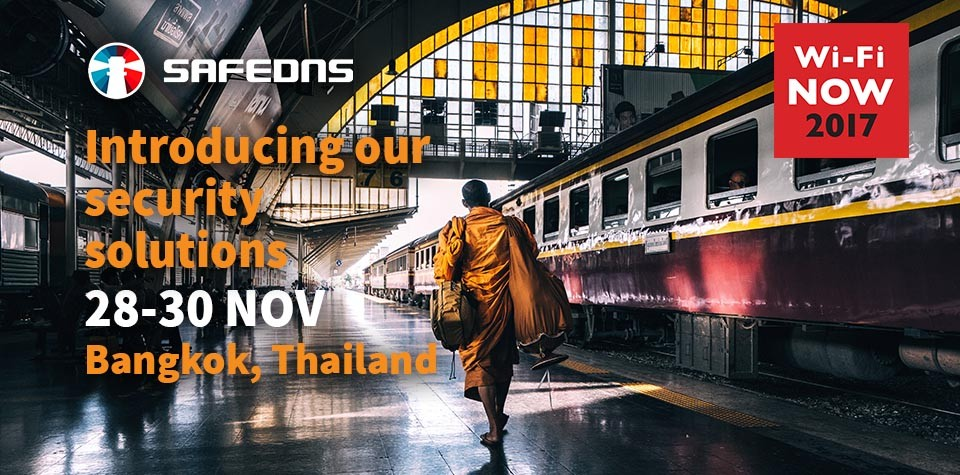 SafeDNS at Wi-Fi NOW APAC in Thailand