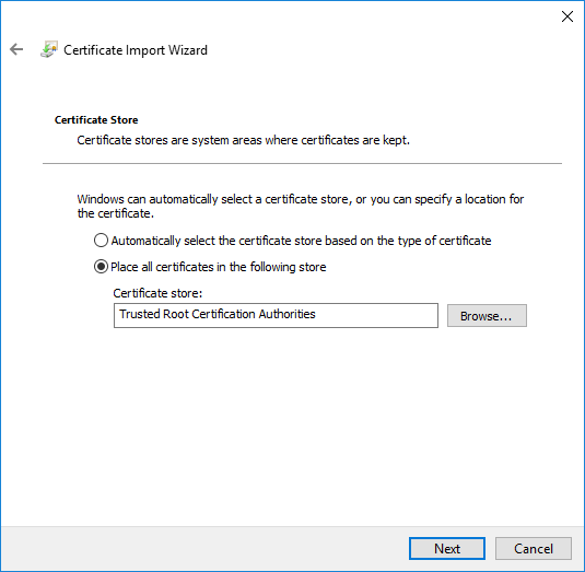 How to install a SafeDNS Root CA certificate | SafeDNS